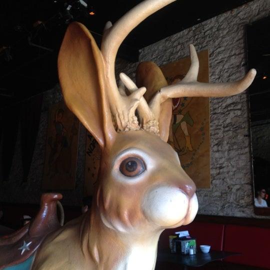 Photo taken at The Jackalope by Jennifer R. on 9/1/2012