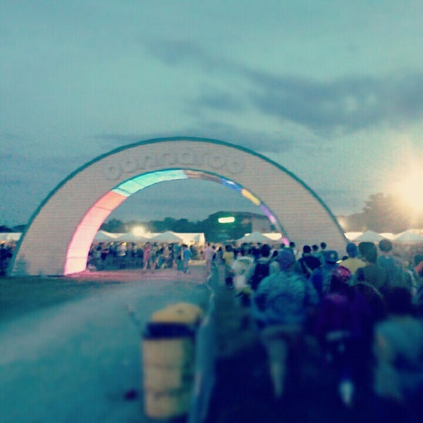 Photo taken at Bonnaroo Music & Arts Festival by Justin B. on 6/10/2012