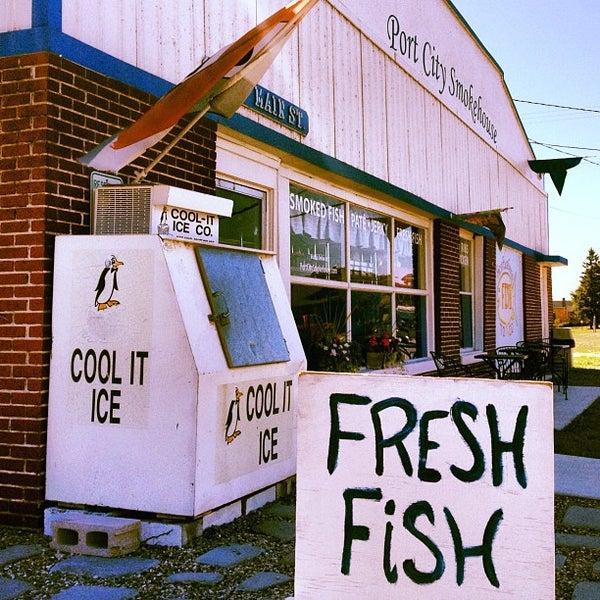 Port city smokehouse fish market for Boston fish market chicago