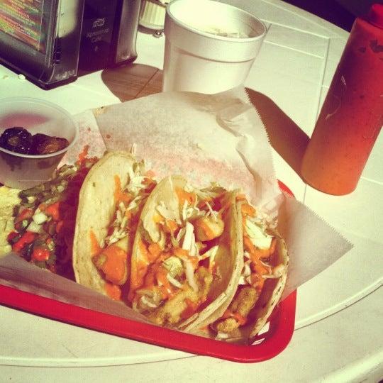 Photo taken at Tia Cori's Tacos by Daniel F. on 3/14/2012