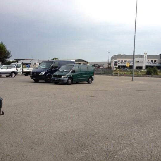 Photo taken at Parcheggio Via Sassonia by Chiara on 7/24/2012
