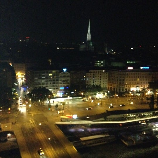 Photo taken at Sofitel Vienna Stephansdom by Natalya L. on 5/25/2012