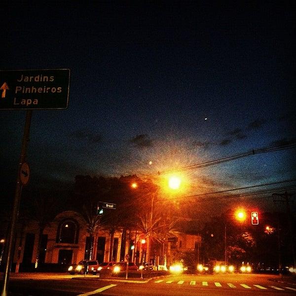 Photo taken at Avenida Brasil by Luciana N. on 5/27/2012