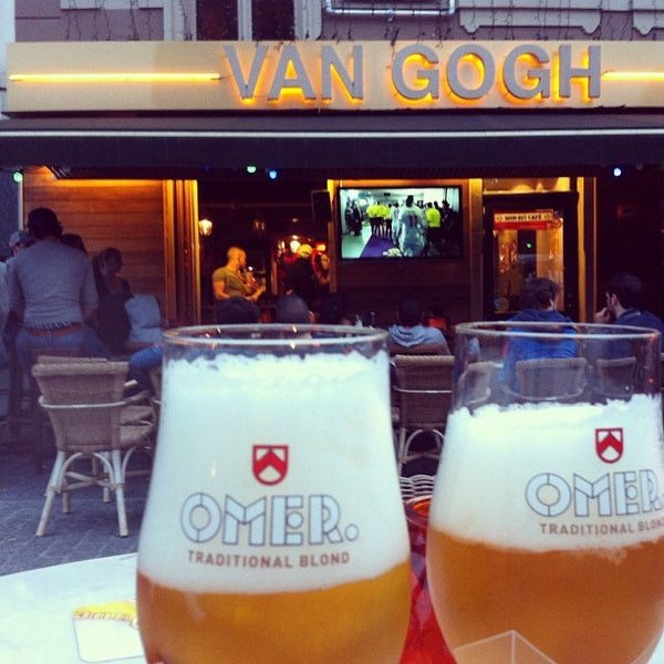 Kafee van gogh bar for Food bar brecht