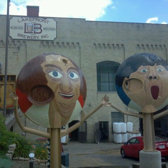 Photo prise au Lakefront Brewery par Brian L. le7/3/2012