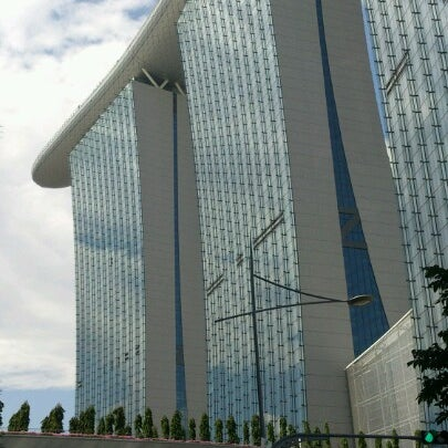 Photo taken at Marina Bay Sands Casino by James N. on 6/18/2012