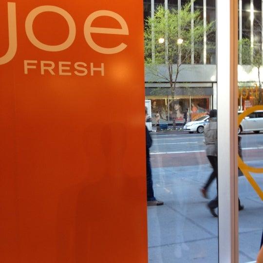 Photo taken at Joe Fresh by Sean A. on 4/6/2012
