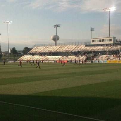 Photo taken at Jeffrey Field by Kevin H. on 8/11/2012