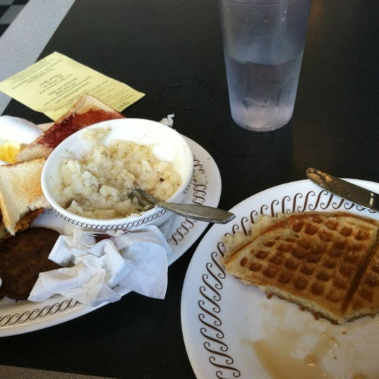 Photo taken at Waffle House by Cory D. on 4/30/2012