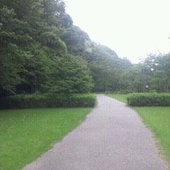 Photo taken at もみじ谷 by Midori K. on 7/15/2012