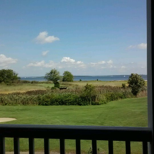 Photo taken at Quidnessett Country Club by Stacey E. on 8/28/2012