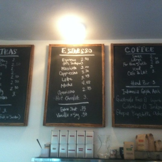 Photo taken at Bodhi Coffee by Phillyism on 6/7/2012