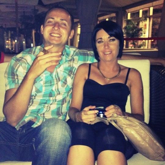 Photo taken at La Fontana Gelati Bar Lounge by La Fraise on 7/8/2012