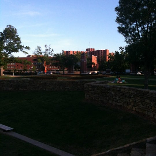 Photo taken at South Oval by Allison H. on 4/25/2012
