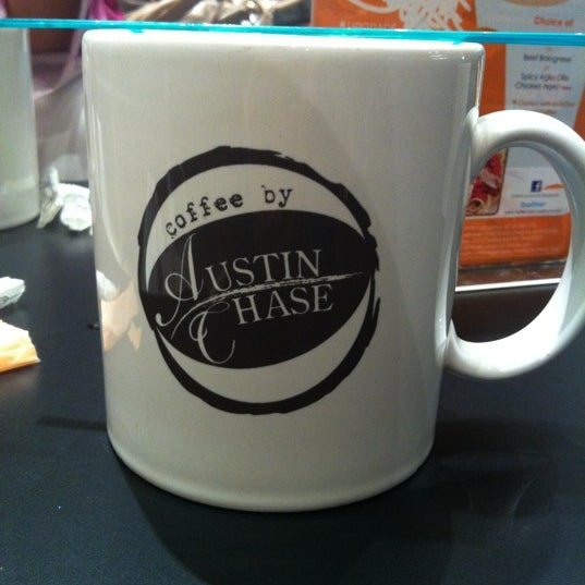 Photo taken at Austin Chase Coffee by Azzy R. on 6/1/2012