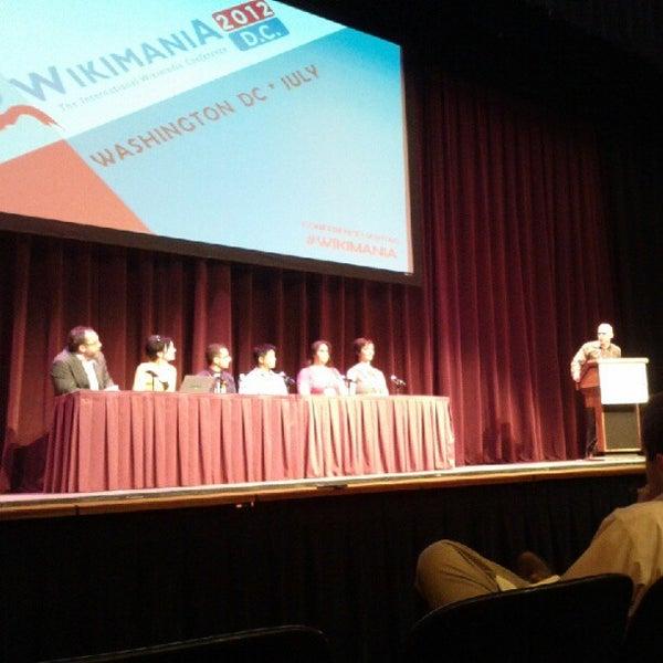 Photo taken at Lisner Auditorium by Alan M. on 7/12/2012