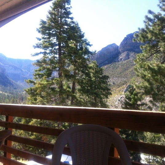 Photo taken at Mt Charleston Lodge by Angelique M. on 7/2/2012