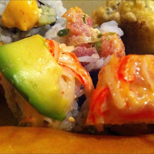 Photo taken at Wasabi Steakhouse & Sushi Bar by Chris C. on 4/1/2012