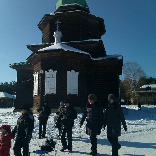 Foto scattata a Этнографический Музей Народов Забайкалья da Lena V. il 2/26/2012