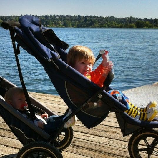 Photo taken at Green Lake Boathouse by Erik B. on 5/14/2012