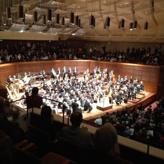 Photo taken at Louise M. Davies Symphony Hall by Brian L. on 5/15/2012