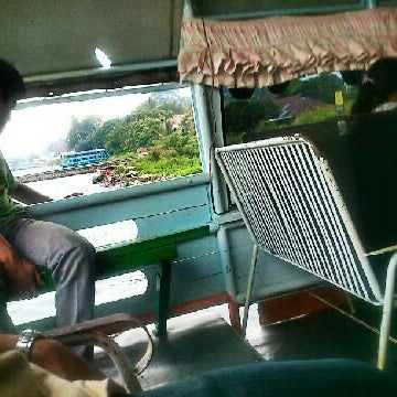 Photo taken at KMP Ferry Tao Toba Ajibata by Daniel T. on 6/19/2012