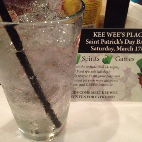 Photo taken at Kee Wee's by Tina B. on 3/16/2012