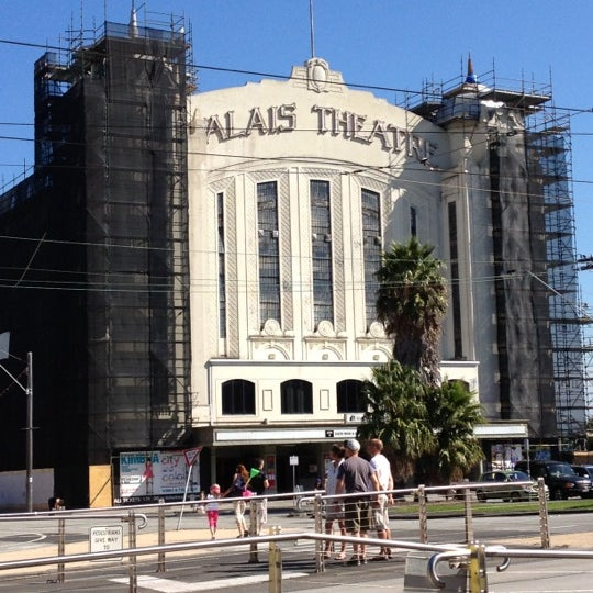 Photo taken at Palais Theatre by Andrew M. on 4/4/2012