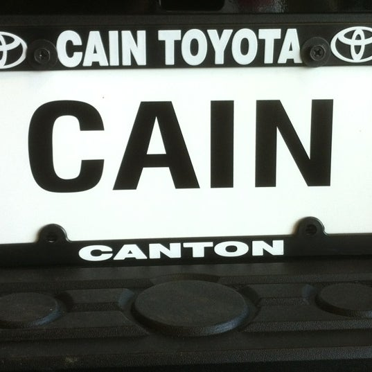 Photo Taken At Cain Toyota By Richard S. On 4/19/2012