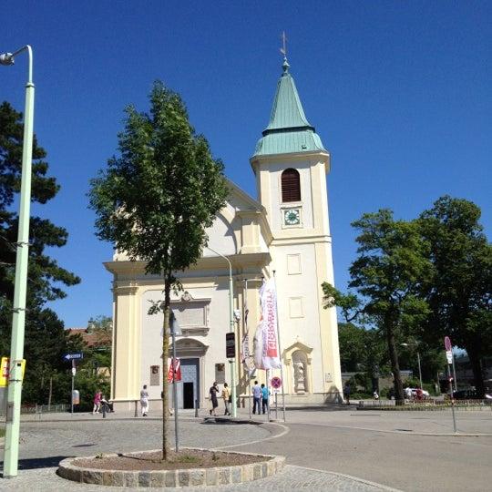 Photo taken at Kahlenberg by Alex J. on 6/16/2012
