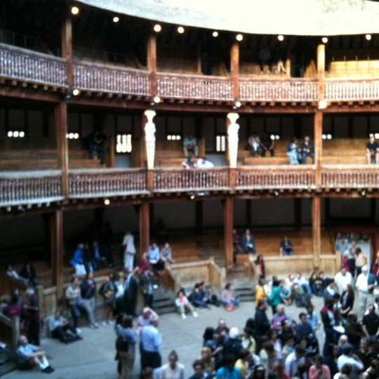 Photo taken at Shakespeare's Globe Theatre by Andrea M. on 8/15/2012
