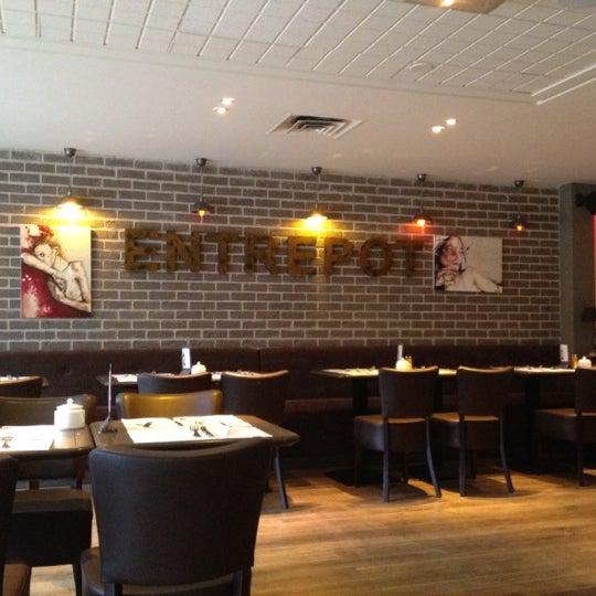 l 39 entrep t villette french restaurant in paris. Black Bedroom Furniture Sets. Home Design Ideas