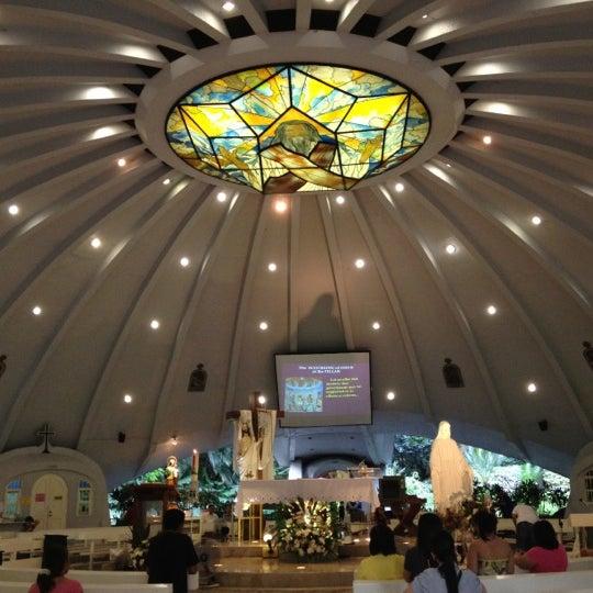 Photo taken at Sto. Niño de Paz Community Chapel by Jim B. on 5/15/2012