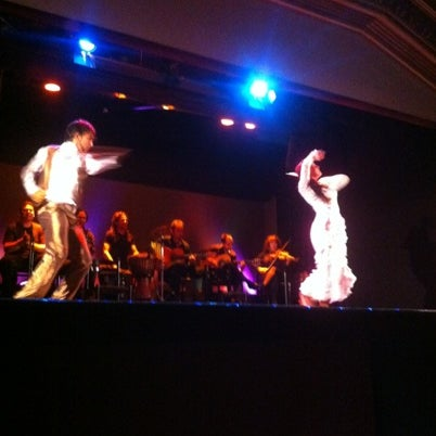 Photo taken at Palacio del Flamenco by Andrea S. on 8/2/2012
