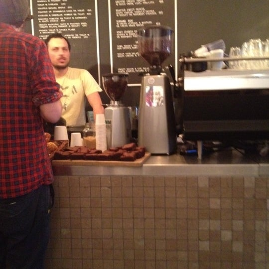 Photo taken at Flat White by Alan F. on 3/2/2012