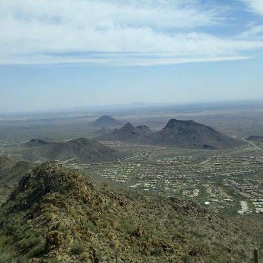 Photo taken at Sunrise Peak by Chris R. on 4/5/2012