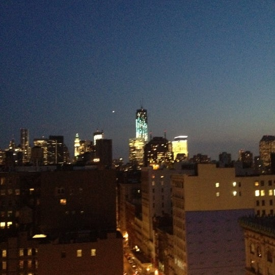 Photo taken at Meetup HQ Roof Deck by Aubrey S. on 6/15/2012