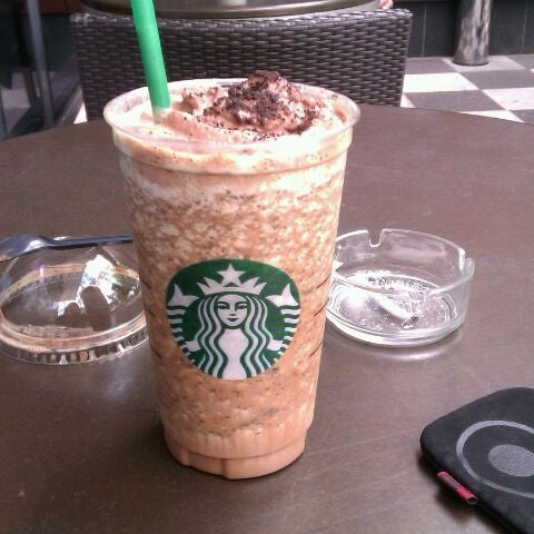 Try new Mocha Cookie Crumble Frappucino! <3