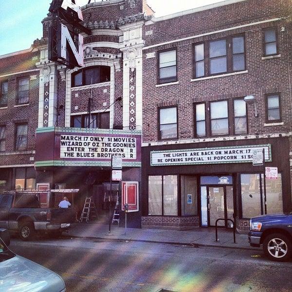Photo taken at Logan Theatre by Erik W. on 3/14/2012
