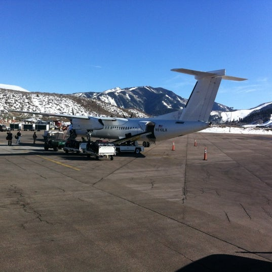 Photo taken at Aspen/Pitkin County Airport (ASE) by Radek T. on 3/11/2012