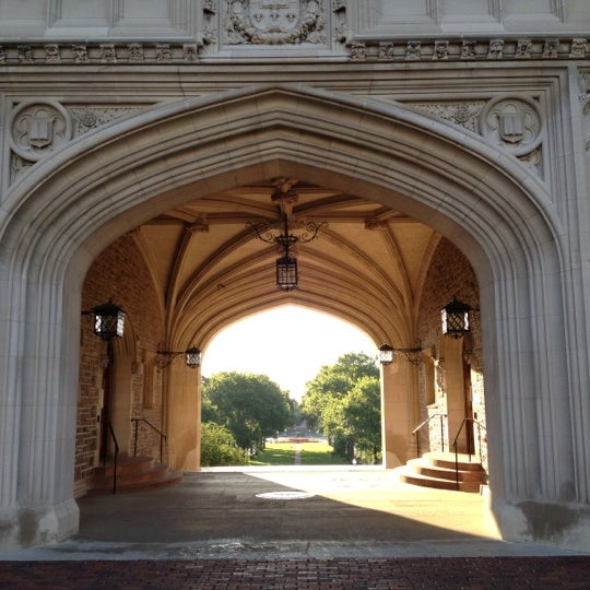 Photo taken at Washington University by Chris F. on 5/9/2012