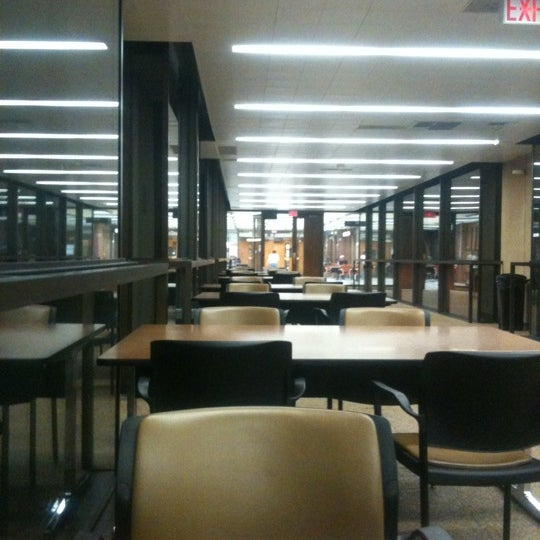 Photo taken at UWM Golda Meir Library by Abdullah T. on 3/11/2012