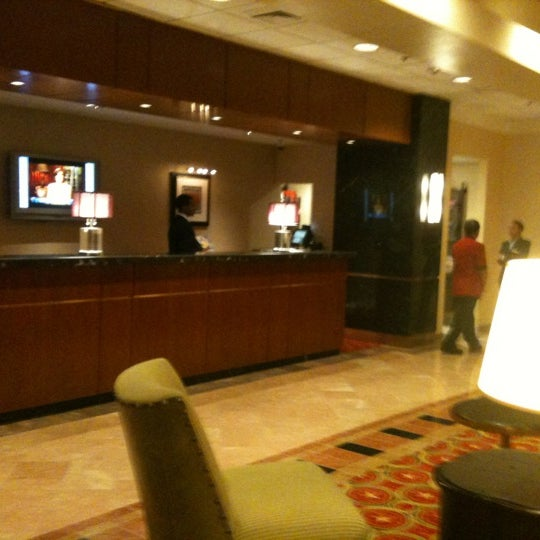 Photo taken at Bethesda Marriott by Gerald A. on 3/16/2012