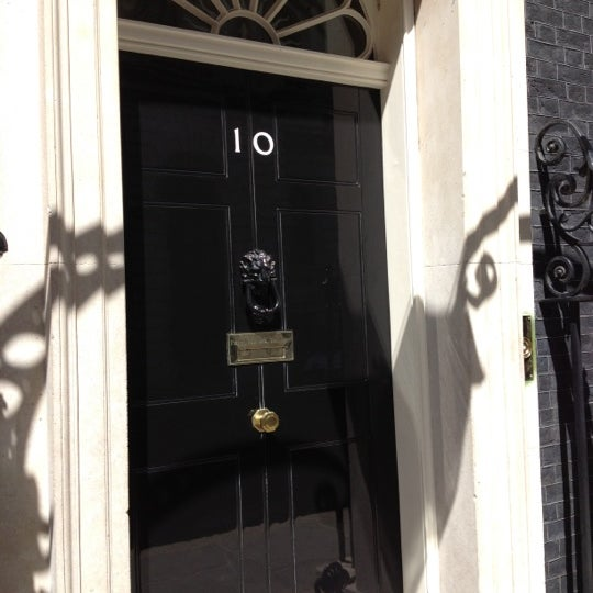 Photo taken at 10 Downing Street by Mark S. on 6/29/2012