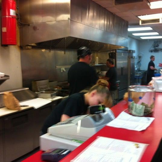 Photo taken at Amato's Cheesesteaks by Aaron M. on 9/7/2012