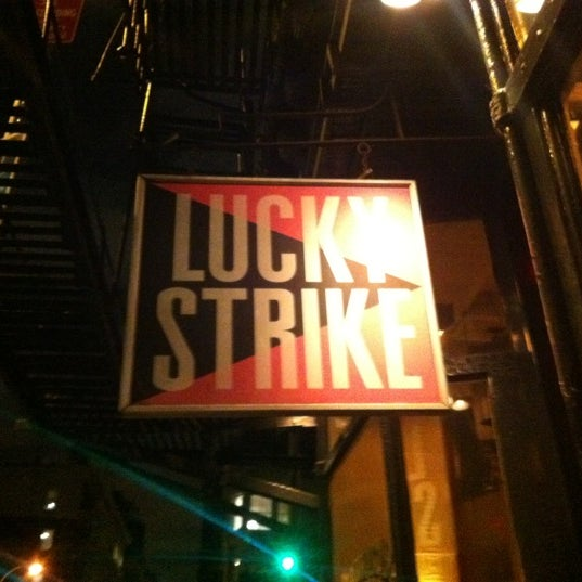 Photo taken at Lucky Strike by Charlie M. on 2/22/2012