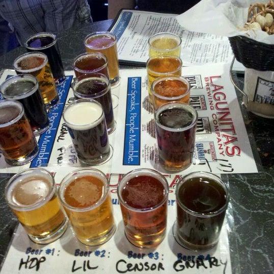 Photo taken at Lagunitas Brewing Company by Ryan G. on 3/4/2012