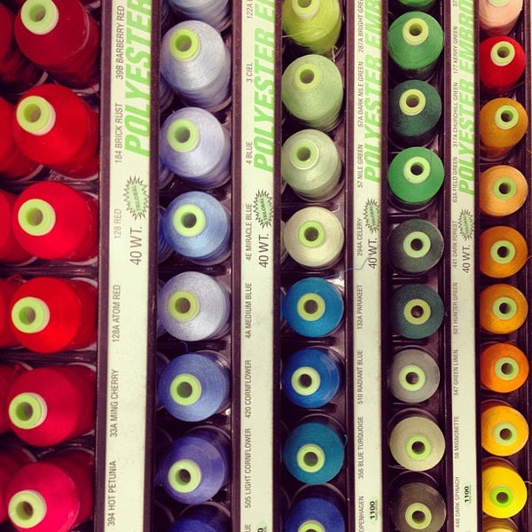 Photo taken at Jo-Ann Fabric and Craft by Savio A. on 9/4/2012