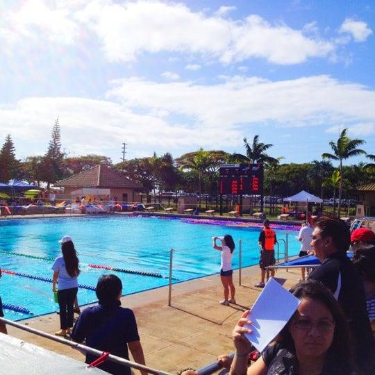 Veterans Memorial Aquatics Center Pool In Waipahu