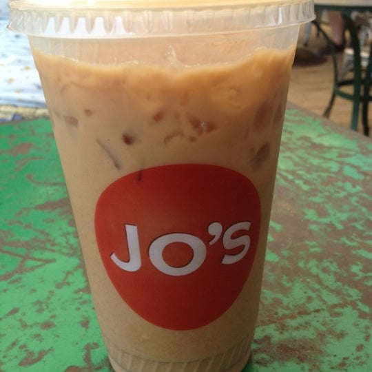 Photo taken at Jo's Coffee by K. A. on 5/7/2012